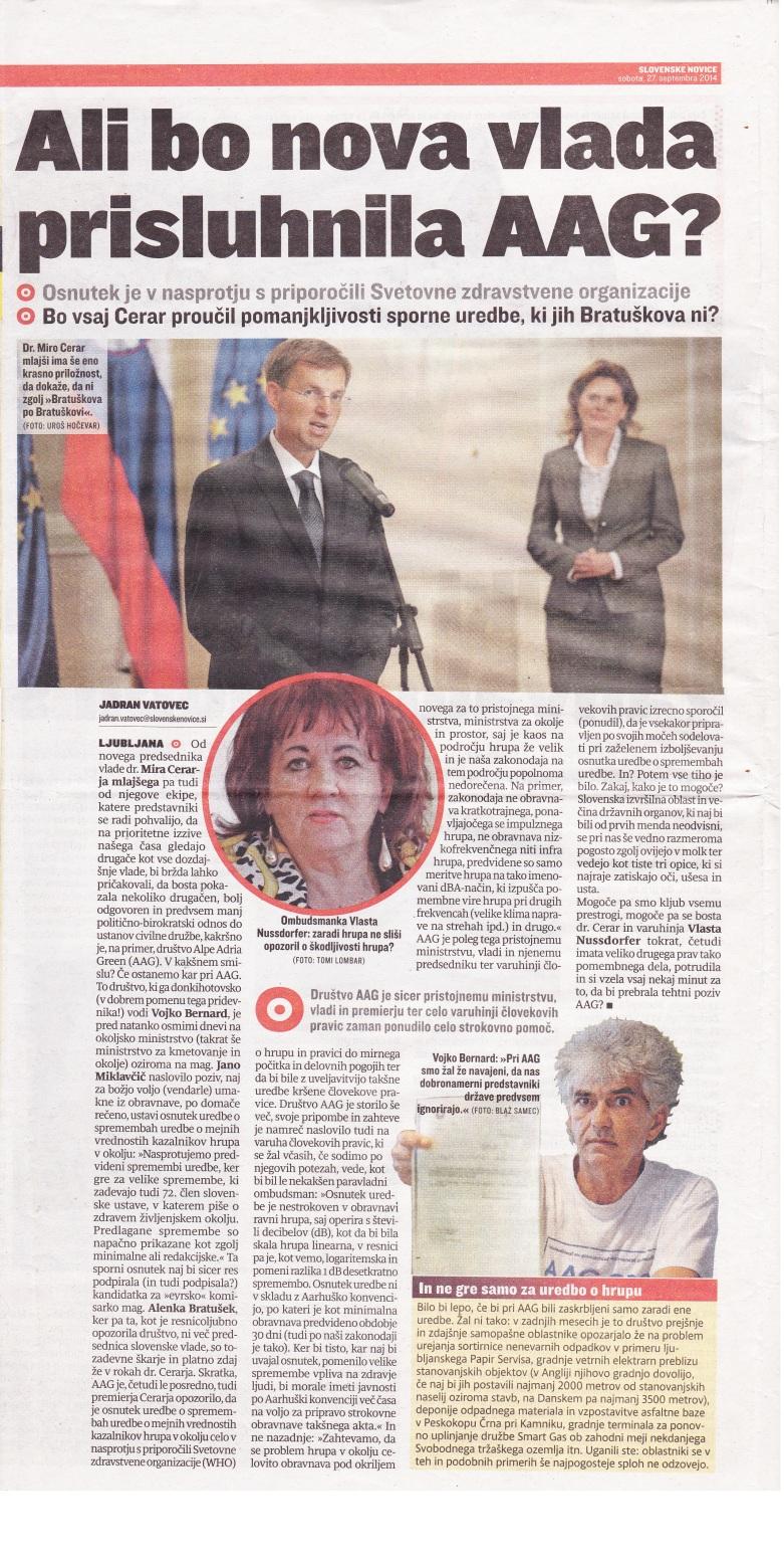 Novice - AAG-Vlada
