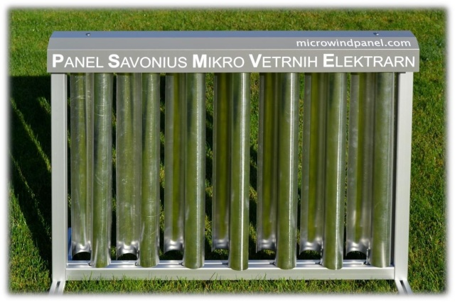 Panel Savonius mikro vetrnih elektrarn