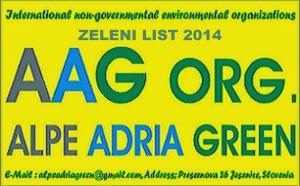 AAG-ZELENI LIST 2014