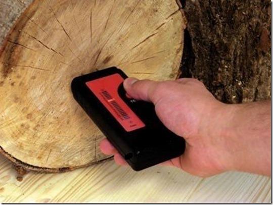 merilec vlažnosti lesa