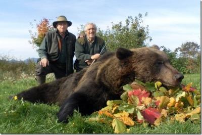 medved-trofejni posnetek